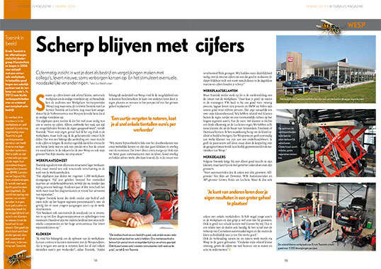 After Sales Magazine artikel Wesp