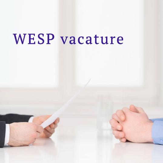 WESP vacature